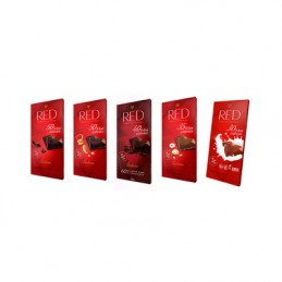 Red - chocolate 5 pack