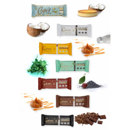 Gam's protein bar - 7 pack