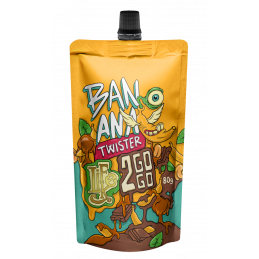 2GOGO BANANA TWISTER - 80g